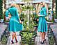 """Элегантное женское платье средней длины 206 """"Креп Клёш Миди"""" в расцветках, фото 8"""