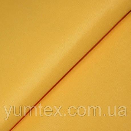 Однотонная ткань Универсал, цвет подсолнух