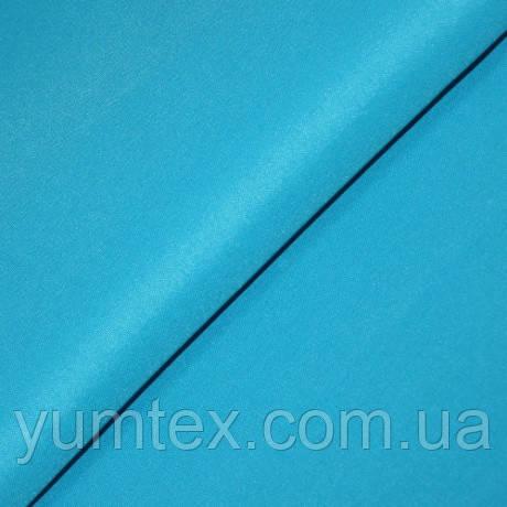 Однотонная ткань Универсал, цвет голубая бирюза