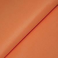 Однотонная ткань Универсал, цвет оранжевый