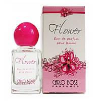 Парфюмерная вода для женщин Flower Rose мини, 10 мл (Carlo Bossi)