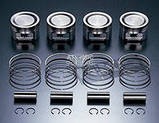 Комплект поршень с кольцами Mitsubishi Lancer, L200, Outlander, Colt Galant Pajero стандарт / ремонт, фото 4