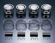 Комплект поршень с кольцами на Сузуки - Suzuki Grand Vitara, SX 4, Swift стандартный размер и 1-й ремонт