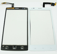 Оригинальный тачскрин / сенсор (сенсорное стекло) для Fly IQ4505 Era Life 7 (белый цвет)