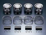 Комплект поршень с кольцами на Hyundai Accent, Tucson, Elantra, i10, i20, i30, ix35, Santa Fe Sonata, фото 3