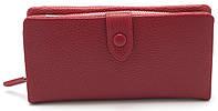 Интересный женский кошелек темно красного цвета SACRED FW-90858, фото 1