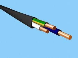 Силовой кабель ВВГнг 3х4
