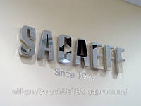Изготовление металлических букв из нержавейки