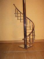 Винтовая лестница из нержавеющей стали в Краматорске