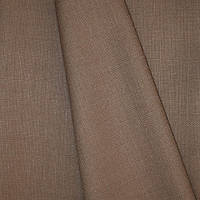 Декоративная ткань рогожка Асос, цвет какао