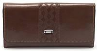 Классический женский кошелек коричневого цвета FUERDANI art.80020