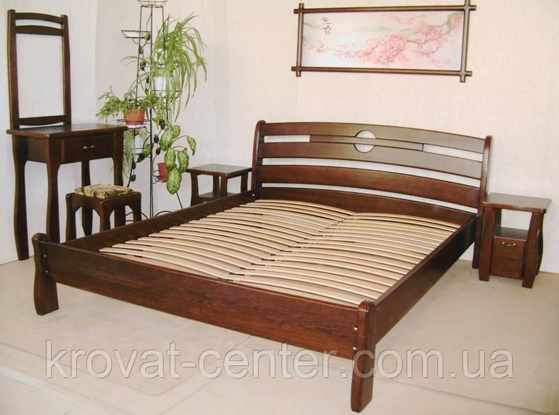 """Деревянная полуторная кровать от производителя """"Каприз"""""""