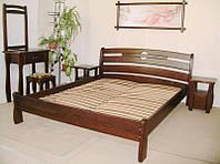 """Кровать деревянная """"Каприз"""" (190\200*120\140\150\160\180) массив - сосна, ольха"""
