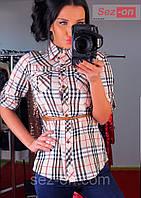 Рубашка женская Burberry с ремешком (оптом)