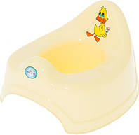 Горшок детский Balbinka TG-008 Tega Baby, желтый