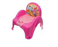 Детский горшок - кресло Safari SF-10 Tega Baby, розовый