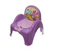 Детский горшок - кресло Safari SF-10 Tega Baby, сиреневый