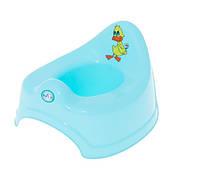 Горшок детский музыкальный Balbinka PO-019 Tega Baby, голубой