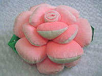 Декоративная подушка роза ручная работа