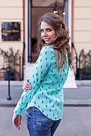 Рубашка женская Lauren с рисунком Polo (оптом)
