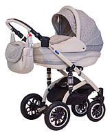 Детская коляска универсальная 2 в 1 Lara Len 266L Adamex