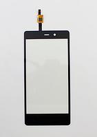 Оригинальный тачскрин / сенсор (сенсорное стекло) для Fly IQ453 Quad Luminor (черный цвет)