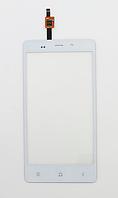 Оригинальный тачскрин / сенсор (сенсорное стекло) для Fly IQ453 Quad Luminor (белый цвет)