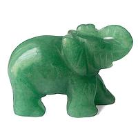 Нефрит, слоник статуэтка