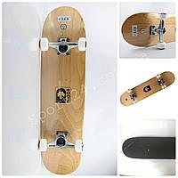 Скейтборд Canadian Maple Black (Черный клен) для подростков и взрослых