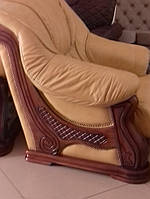 Комплект меблів Leon, кожаный диван и 2 кресла Leon