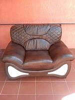 Мебель Prada раскладной диван и кресла, кожаный диван