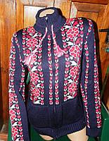Женская кофта вишиванка