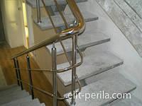 Перила для лестниц из нержавейки в Харькове