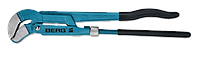 "Ключ трубный рычажный 1.5"", 425мм тип ""S"", CR-V BERG"