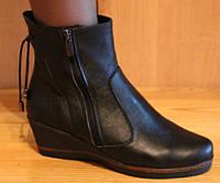Ботинки женские зимние на маленькой платформе, женская зимняя обувь от производителя модель НБ1