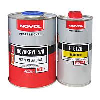 Бесцветный акриловый лак Novol NOVAKRYL 570 2+1 MS