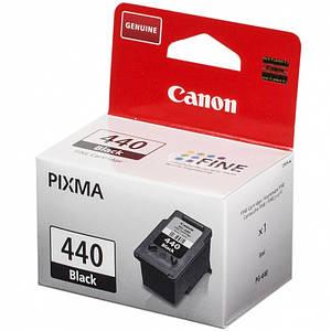 Струйный картридж Canon PG-440 Black Original оригинальный, чёрный, чернильный.