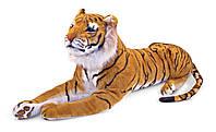 Фирменная мягкая игрушка тигр большой плюшевый Melissa&Doug