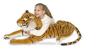 Фирменная мягкая игрушка тигр большой плюшевый Melissa&Doug, фото 2