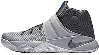"""Баскетбольные кроссовки Nike Kyrie 2 """"Omega"""" Wolf Grey/Dark Grey-Omega (Найк Кирай) серые"""