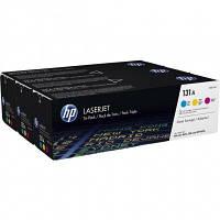 Картридж HP 131A LJ M276n/M276nw/M251n/M251nw (CF211A_ CF212A_ CF213A) Tri-Pack (U0SL1AM)