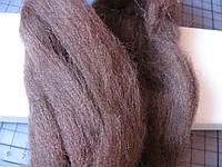 Австралийская мериносовая шерсть для валяния.  18 микрон. 10 грамм