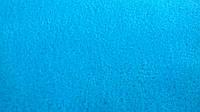 Флис ярко-голубой, тёплая ткань, Тайвань