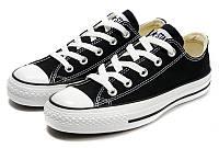 Женские кеды Converse Chuck Taylor All Star (конверс чак тейлор ол стар) бело-черные
