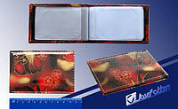 """Визитница на 32 визитки V-7240 """"Цветы"""""""