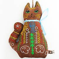 Кот гурман. Украинский сувенир.