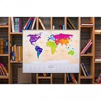 Скретч карта мира Travel Maps Gold