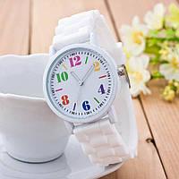 Женские часы Geneva (Белые)