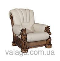 Шкіряний антикваріат гарнітур на дубі Mustang.шкіряний диван + 2 крісла, шкіряні антикварні меблі