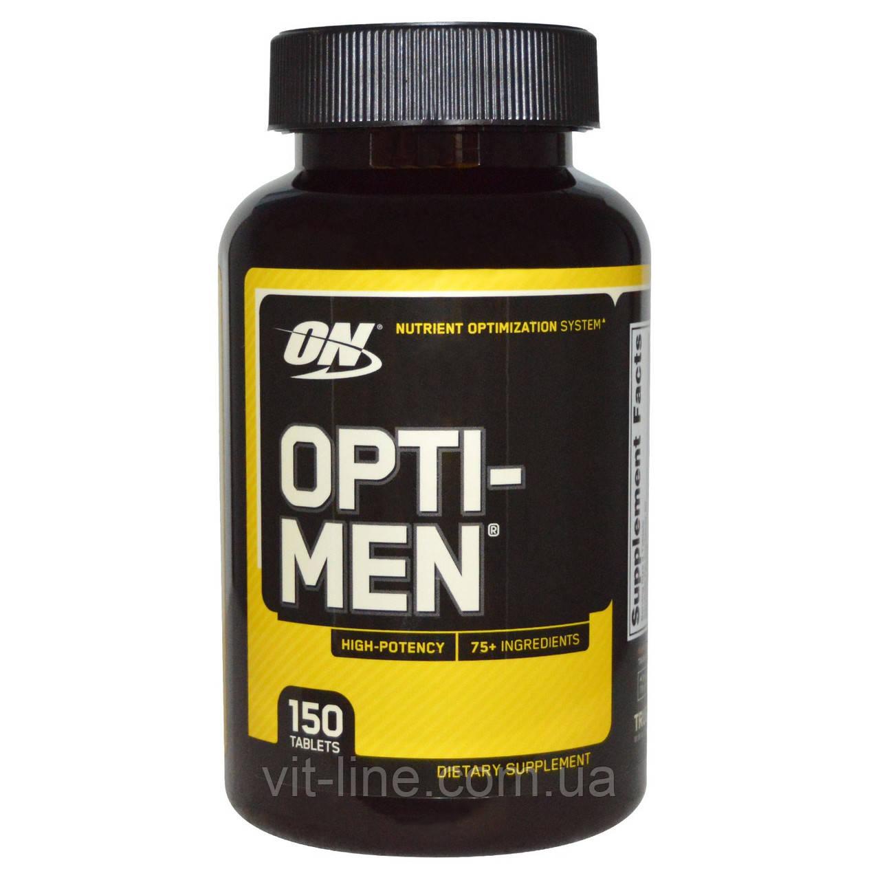 Opti-Men. Комплекс витаминов для мужчин от Optimum Nutrition, 150 таблеток